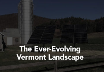 The Ever-Evolving Vermont Landscape